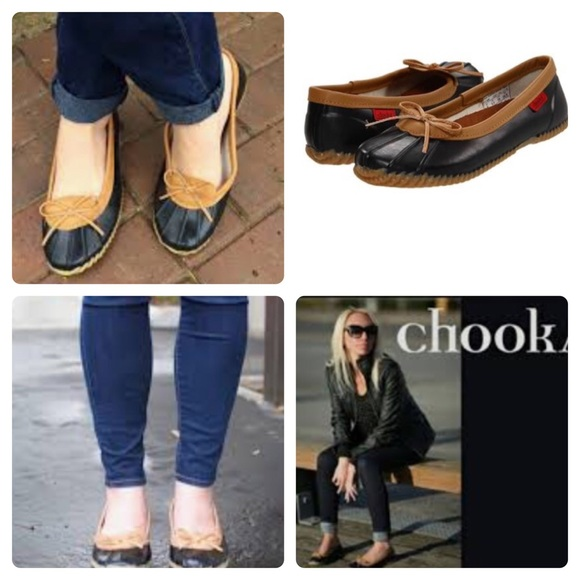 chooka Shoes | Euc 8 Skimmer Duck Rain